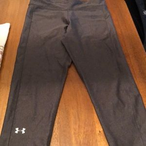 Under Armour Size Small Cropped Leggings